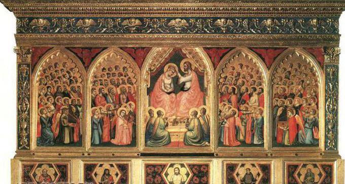 описание на картината, поклонение на магиите дьотто ди бондън