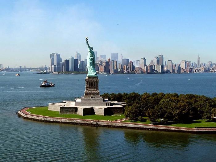 socha svobody v USA