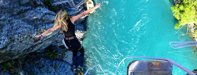 saltando negli angoli più belli del pianeta