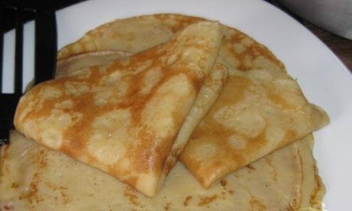 ricetta di pancake acida
