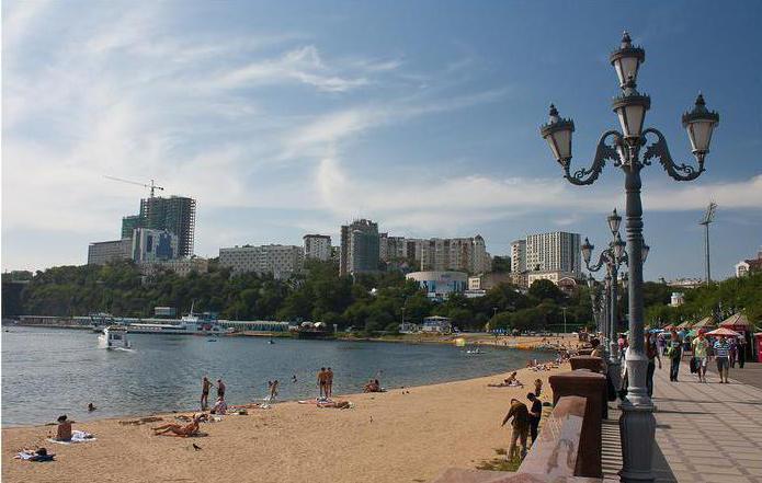 spiagge di Vladivostok