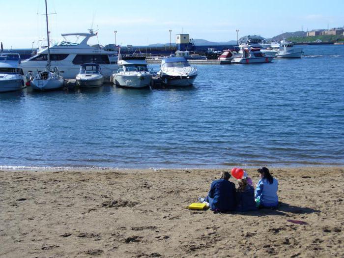 Le spiagge di Vladivostok