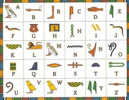 Scrittura sull'antico Egitto