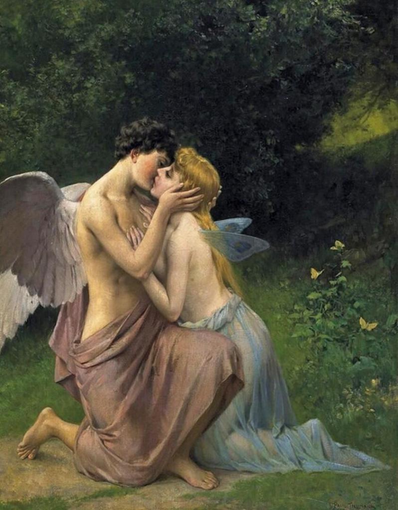 стоматологических ангел поцелуй картинки верхней