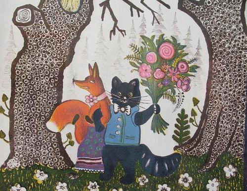 имена на руски народни приказки за животни