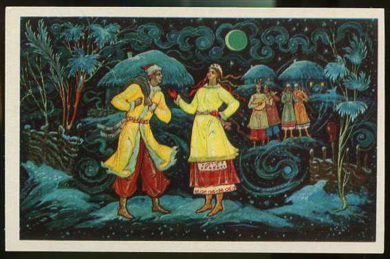 Gogol v noci před Vánocemi