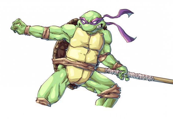 ninja kornjača donatello