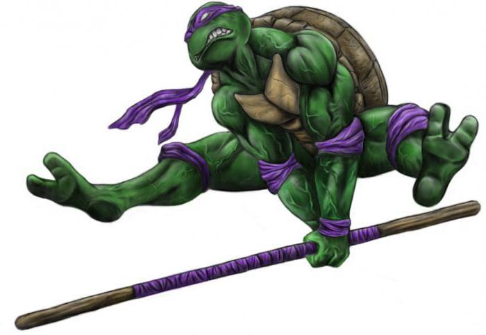 Ninja kornjače figura donatello