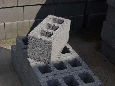 dimensioni standard del blocco di argilla