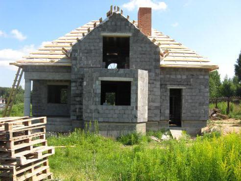 dimensione del blocco di argilla per la costruzione di una casa