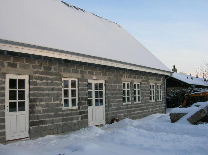 dimensioni del blocco di argilla per la costruzione di bagni