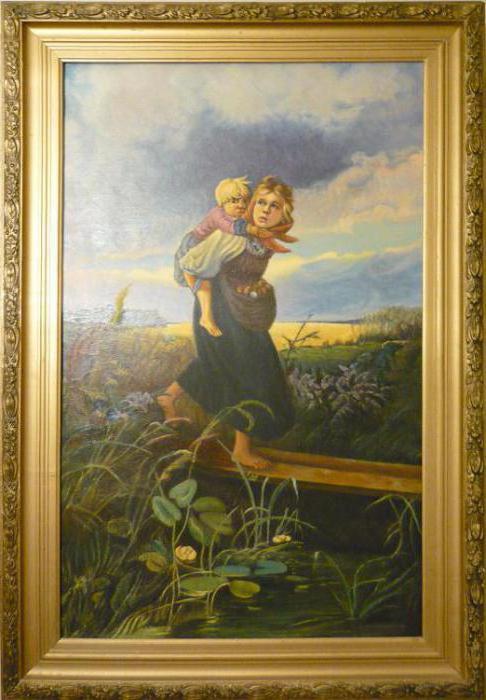 opis slike djece koja bježe od oluje