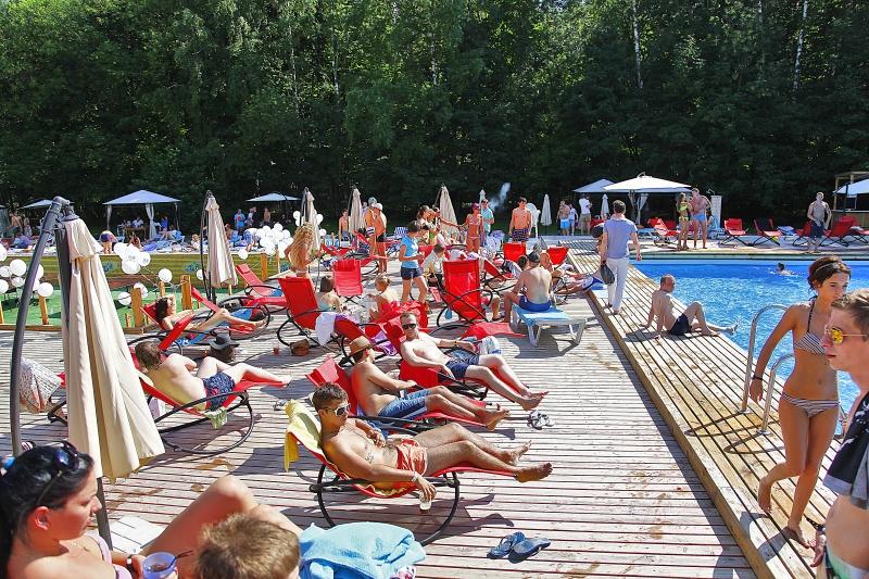 La piscina di Mosca