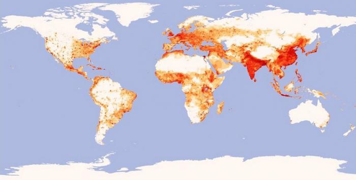 hustota obyvatelstva