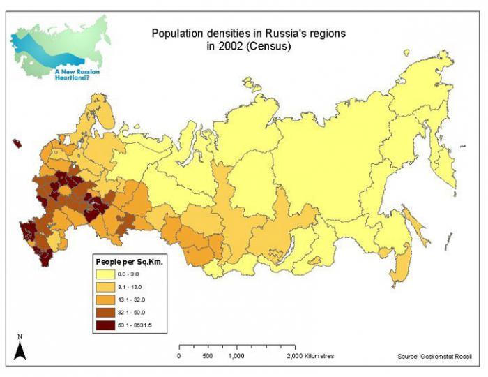 gustoća svjetskog stanovništva