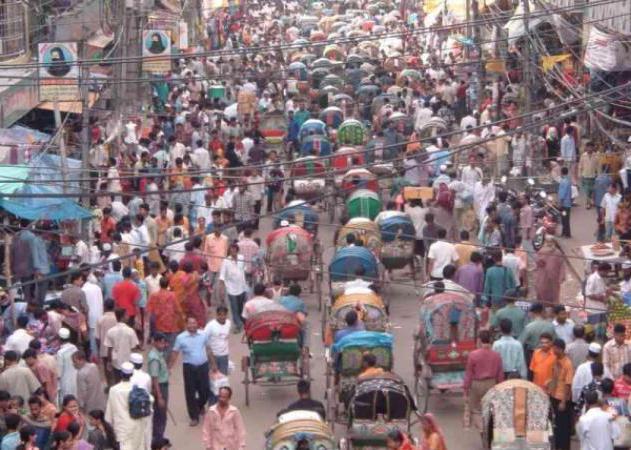 hustota obyvatel v zemi