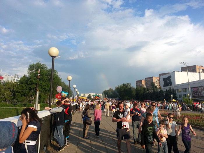 Izhevsk - popolazione