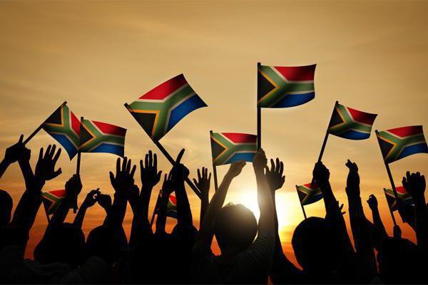 Densità di popolazione del Sud Africa