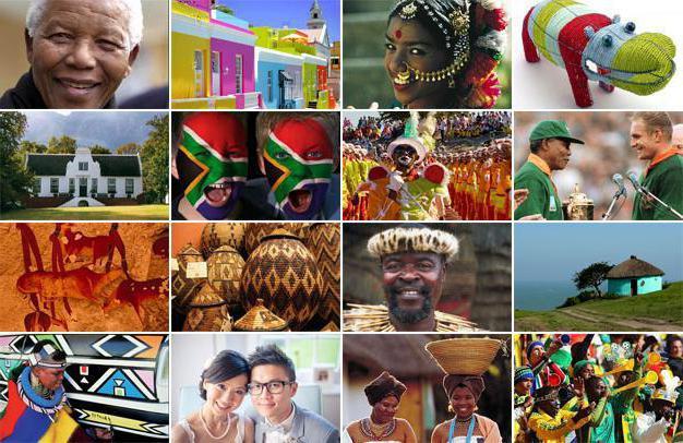 popolazione del Sud Africa