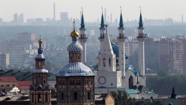 Gostota prebivalstva Republike Tatarstan