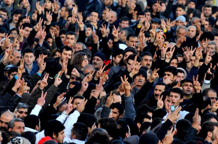 La popolazione turca è