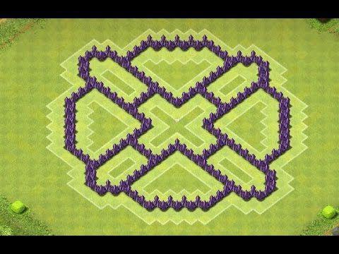 Posizionamento di base di Clash of Clans TX 7
