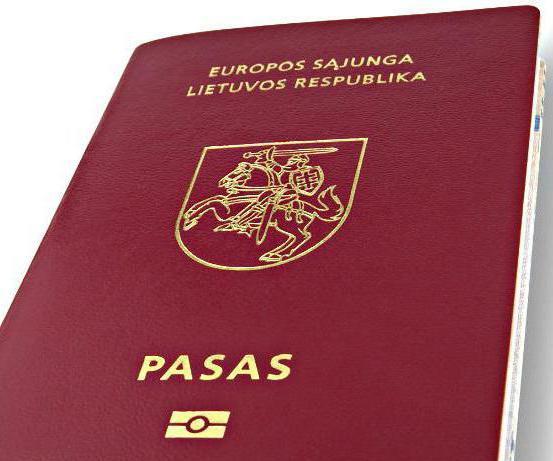 wiza przez Litwę