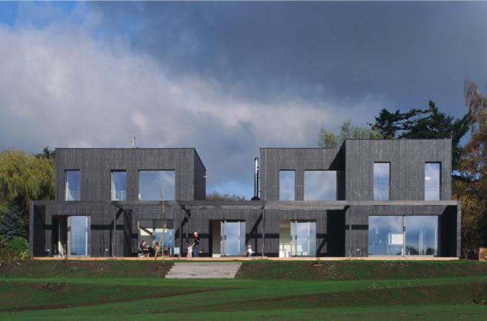 casa di progetto per due proprietari