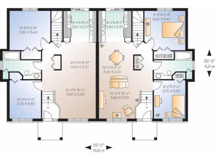 progetti di case duplex