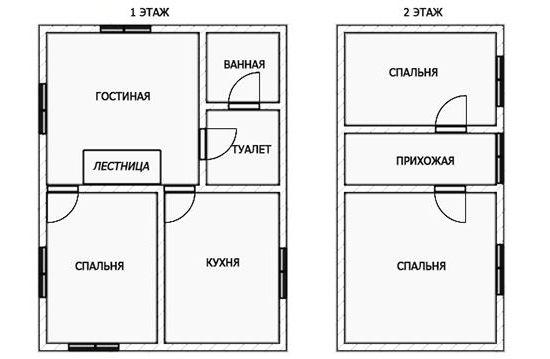 hiša 6 z 8 nadstropij