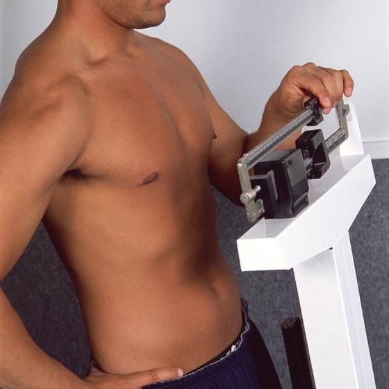 omjer težine i visine kod muškaraca