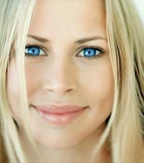грим за сини очи