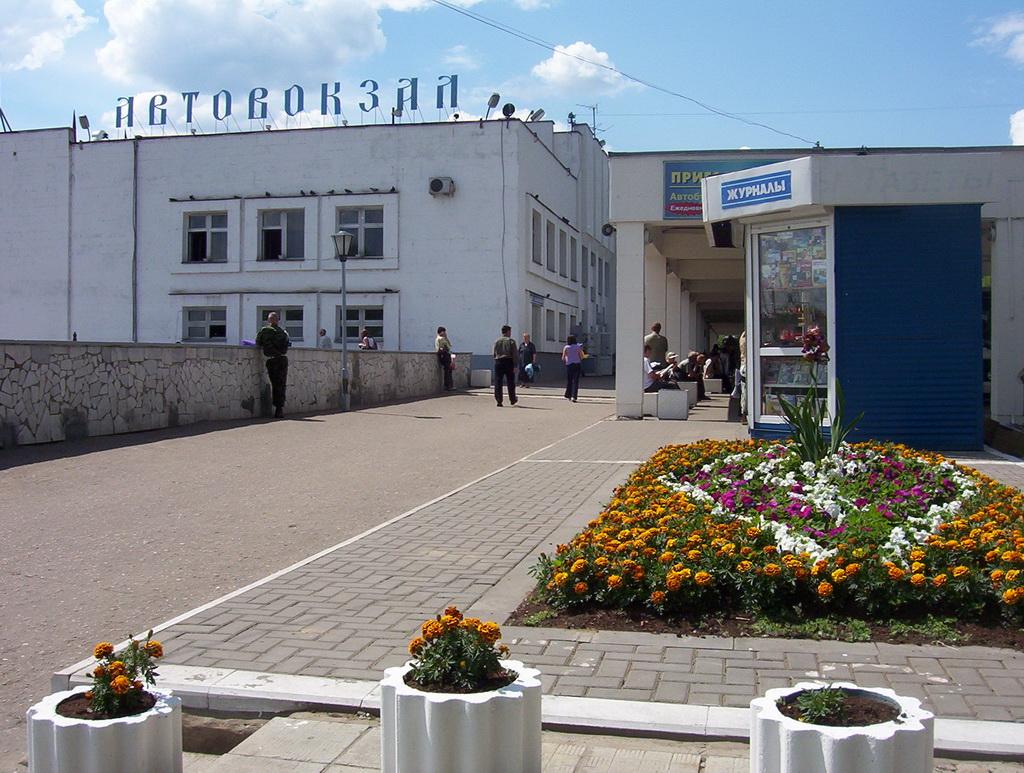 Autostazione di Vladimir nel centro della città