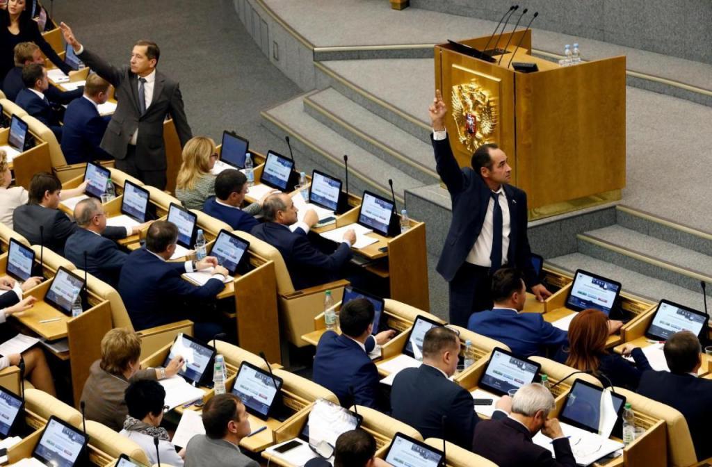 službene plaće zamjenika Državne dume