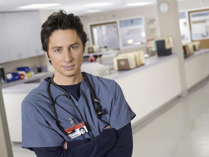 attori della serie televisiva americana della clinica