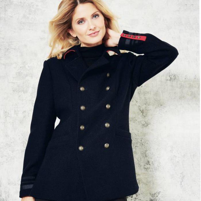 foto di cappotto in stile militare