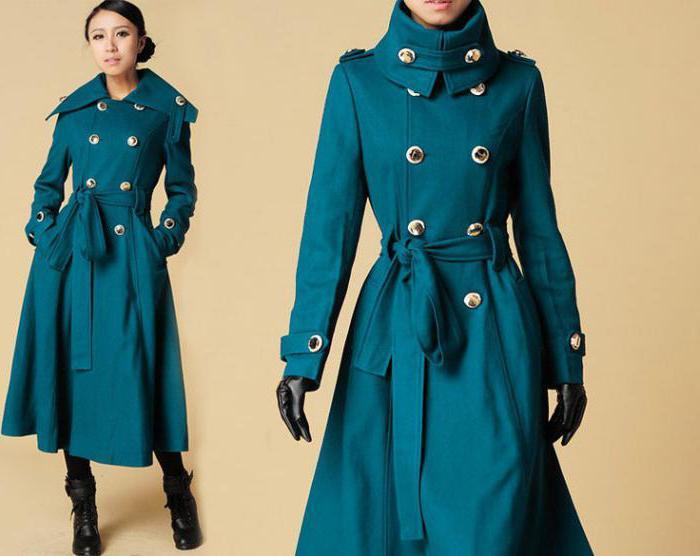 cappotto militare nero