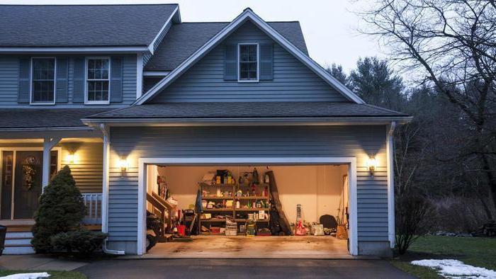Величина гараже