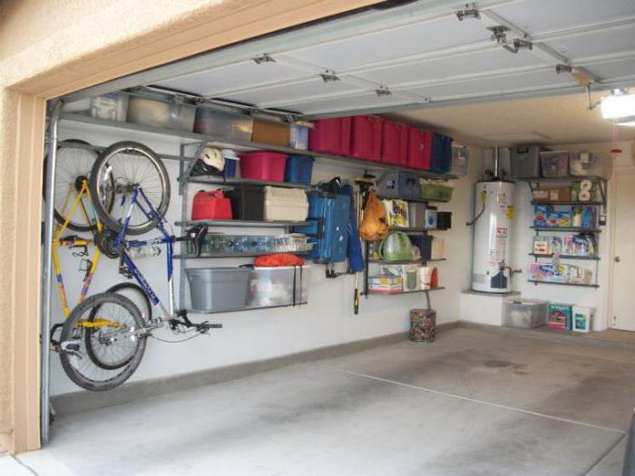 Величина гараже за један аутомобил
