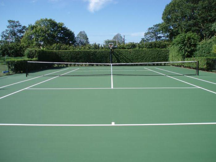 velikost tenisového kurtu v metrech