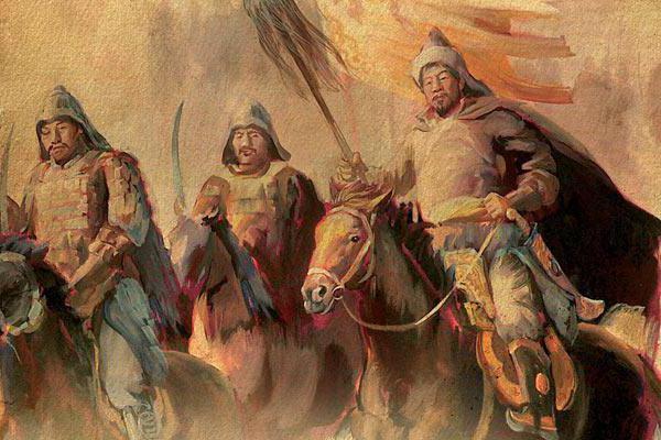 Батуов син Џингис Кан