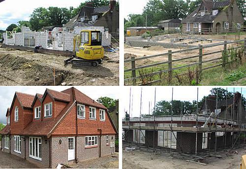 faze izgradnje privatnih kuća