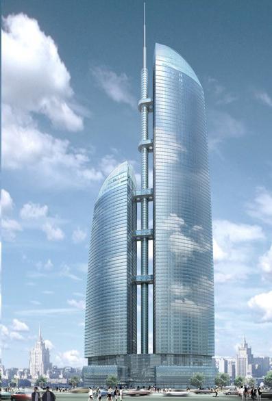 najviša zgrada u Moskvi