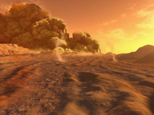 Marsova atmosfera