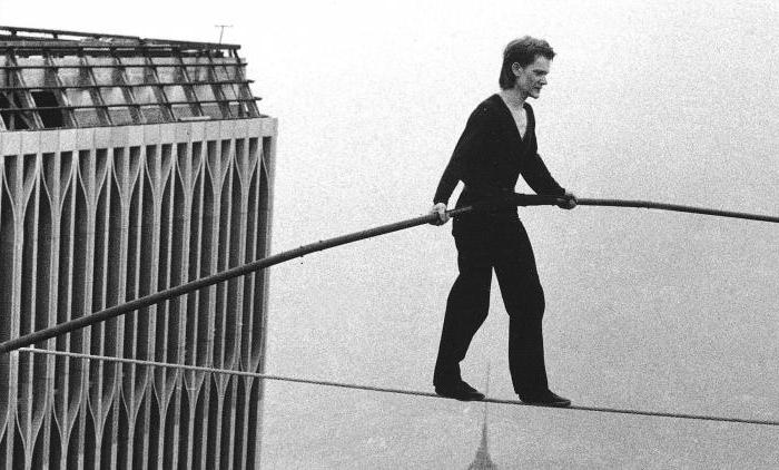 philip petit tightrope walker biografia
