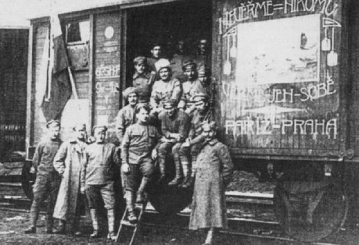 rivolta del corpo cecoslovacco