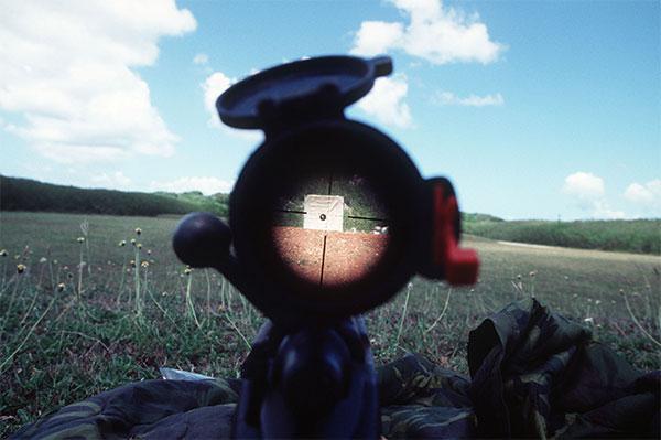 Strzelanie z karabinu snajperskiego