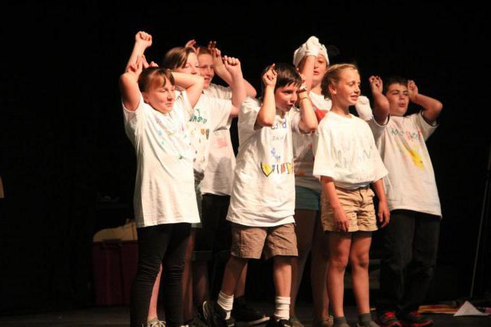 programma di gruppo teatrale
