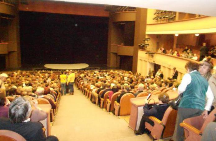 Teatro della città di Mosca marzo
