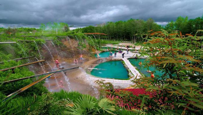 termalni izvori u Abhaziji Kyndyg kako doći